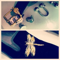 Shopping for blinged out menswear accessories at Alexander McQueen #bling #menswear #fashion #style #metal #skull #bug #dragonfly #gold #belt #cufflinks #buckle #shoe #gold #suede #designer #luxury #golden #sexy #black #opulent #mcqueen #nyc #newyork  (at Alexander McQueen)