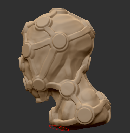 First time sculpting faces on Zbrush.