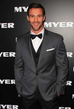 MYER AUTUMN/WINTER 2013 FASHION LAUNCH - KRIS SMITH  Thursday night was a night of glitz and glamour at the Melbourne city Myer store, as the biggest faces of Australian fashion celebrated the launch of the department store's Autumn/Winter 2013 fashion range. Sporting the latest leather, lace and peplum were hottest of the hottest including Jennifer Hawkins and Alexandra Agoston.  Male eye candy was also  present of course in the form of Mr Kris Smith!Check out the photos from the catwalk and red carpet here - who was YOUR best dressed? Image Source: Zimbio