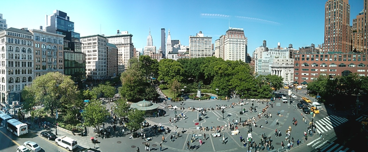 Union Square, NYC… TGIF!
