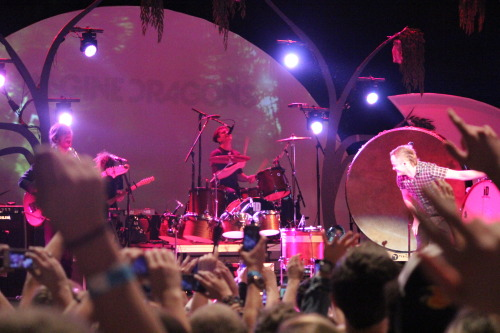 Imagine Dragons @ The Tabernacle, Atlanta on Valentines Day 2013 with Nico Vega and Atlas Genius. Photos by Clifford Judd and the Lost Sandal
