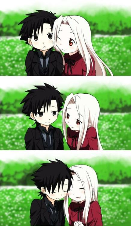 Kiritsugu and Irisveil