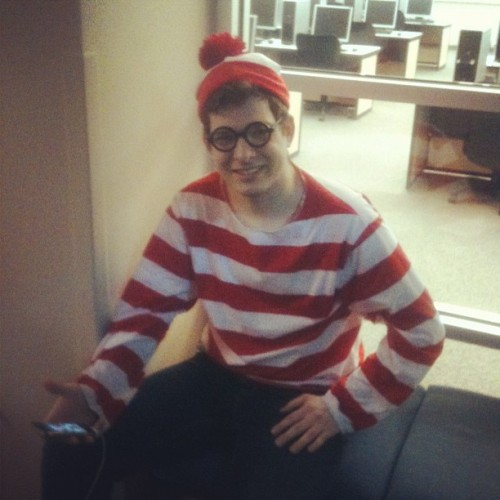 Found @waldovegas straight chillin #whereswaldo