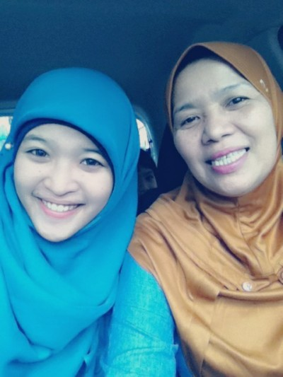 I love you so much mommy. Thanks Allah for letting her be my angel