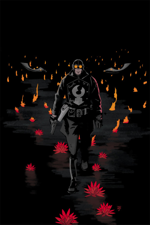 xombiedirge:  Lobster Johnson: A Scent of Lotus #2 by Tonci Zonjic / Blog