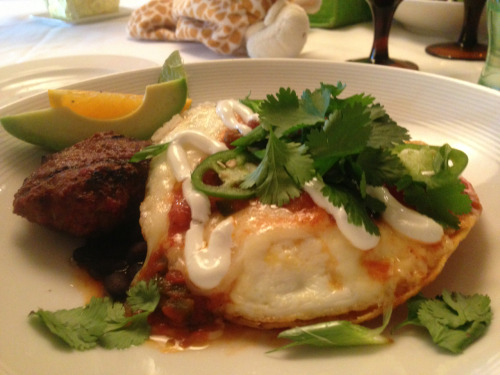 Huevos Rancheros made for a tasty brunch at RIS today!
