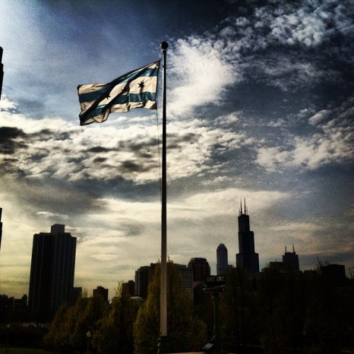 Love my new home #chicago #skyline  (at Museum Campus)
