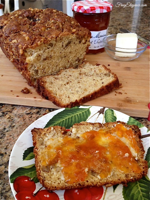 Old Fashioned Banana Bread by FrugElegance