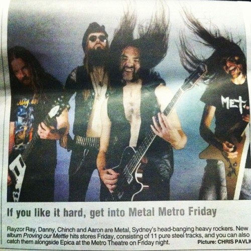 METAL on mX today! ❤⚡