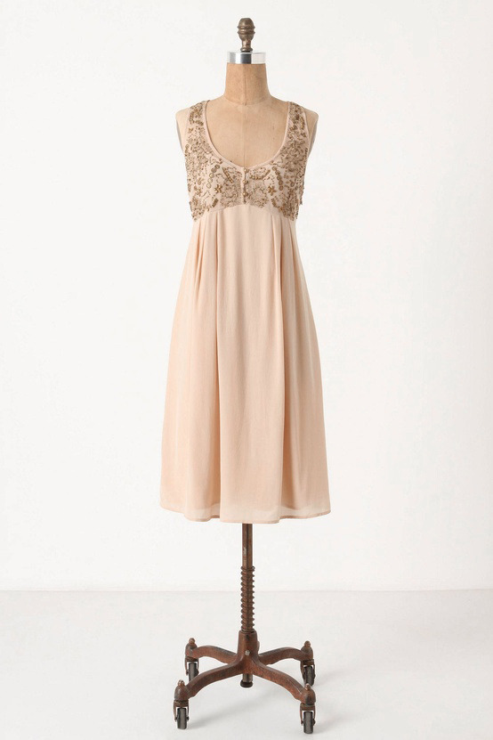 [Flickering Slip Dress by Anthropologie]