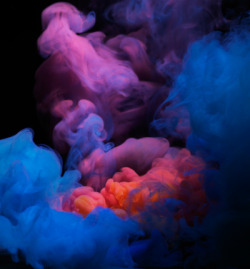 Gorgeous, ethereal, abstract smoke imagery from Henrik Sorensen.