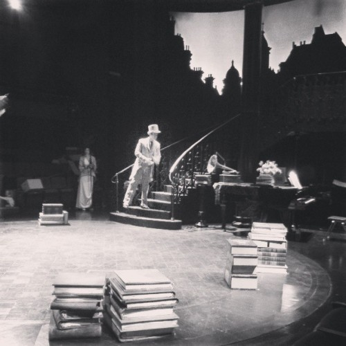 #myfairlady tech @triadstage  (at Triad Stage)