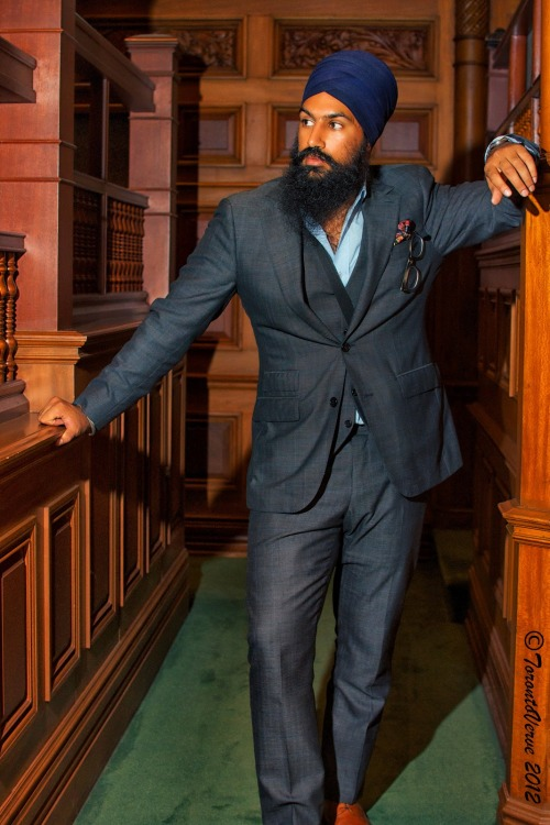 beard-watch:  Jagmeet Singh.
