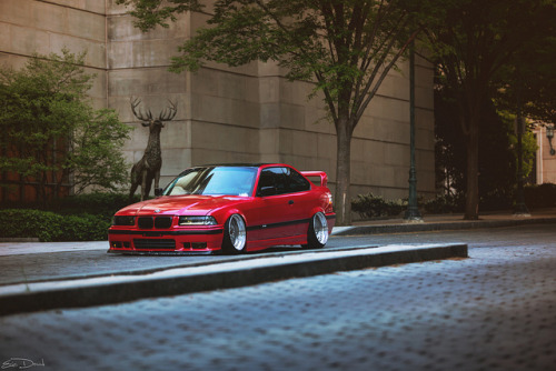 stancespice:  Shaun Quill // BMW E36 by Eric Dowd on Flickr.
