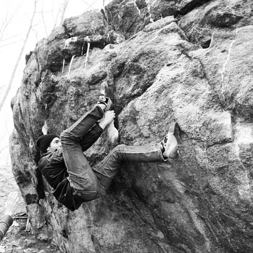 lostmacman: Using the heel hook to make a move around the...