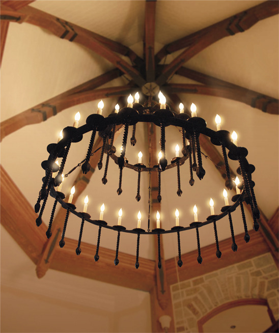 I love lighting fixtures built of iron. Modenus is up with a great profile of Artesano Iron Works.