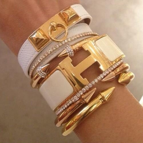 closethorse:  white + gold