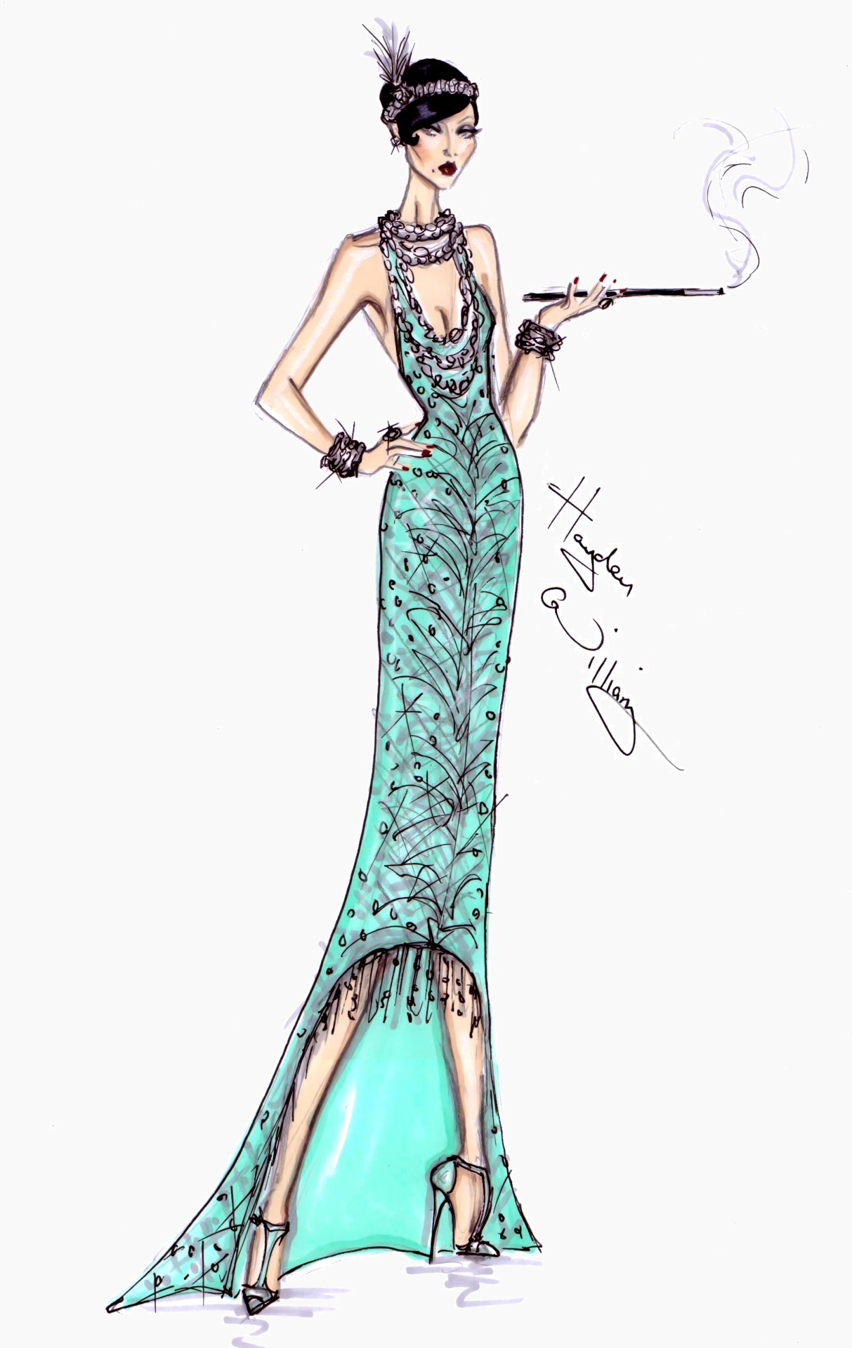 haydenwilliamsillustrations:  The Great Gatsby collection by Hayden Williams pt2