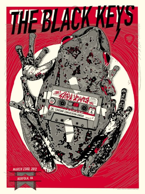 alternative-imagery:  Cool Concert Poster: The Black Keys