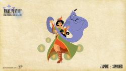 disney Final Fantasy disney princesses