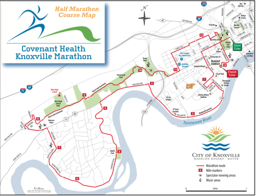 My goals and expectations for the Covenant Knoxville Half Marathon: None! Originally, I was supposed to run this race with two friends but they are both injured.  I had my goal race three weeks ago and I'm still super proud of that run.  I don't know if I'll go for a PR or to take the pressure off and just run.   This time I'll see you from the mountains.