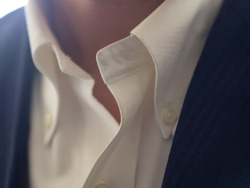 brokeandbespoke:  The Brooks Brothers White OCBD