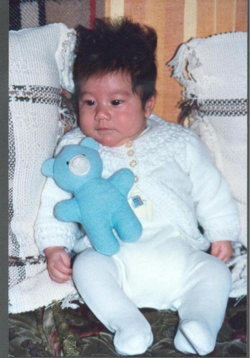 fy-lunafly:  @SamCarterSC: As promised my baby pic….parents messed with my hair :s