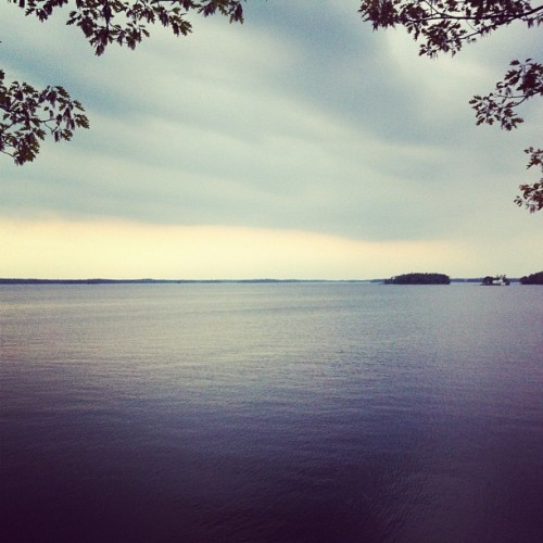 Beautiful view! #lake #muskoka #taboo #scenery #vista #water #seascape (at Taboo Resort, Golf and Spa)