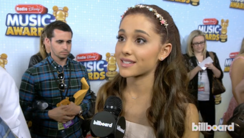 "We talked to Ariana Grande about her ""unreal"" top 10 success, advice from Michelle Williams and more. Watch here: http://blbrd.co/11Ule2R"