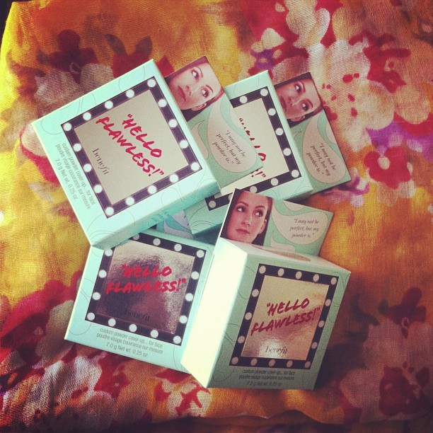 Hello to you too 👸#benefit #helloflawless #sephora #vib