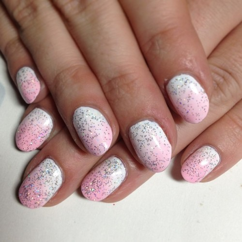 D's holographic princess #nails