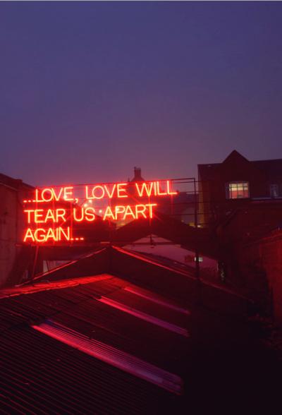 love will tear us apart again   via Tumblr on We Heart It. http://weheartit.com/entry/81193265/via/dreamsdie