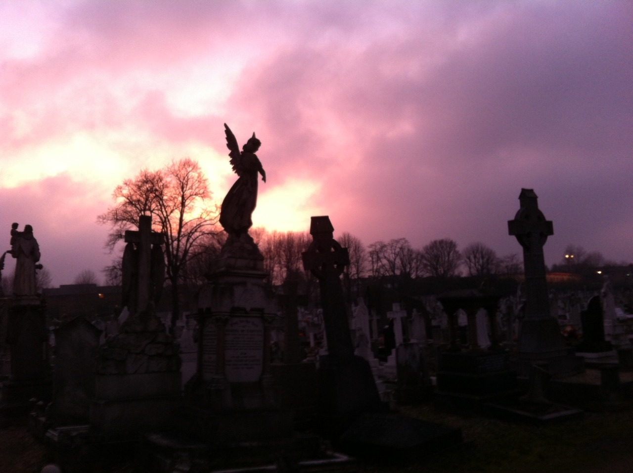 Leyton cemetery before The Birkbeck