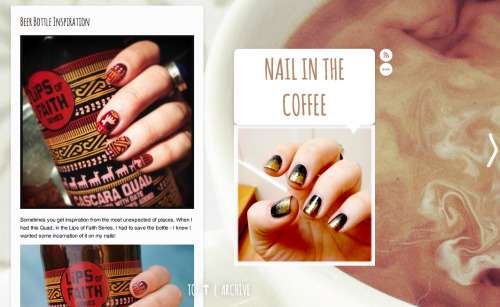 My nail blog is LIVE! You've gotta go see my latest post - think you're gonna LOVE it! www.nailinthecoffee.com xo lovebugs! #nailart #inspired by #beer