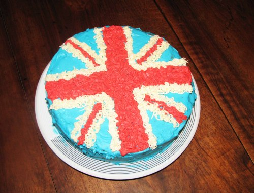 London en buttercream