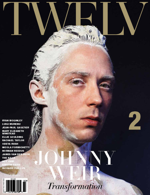 Get @JohnnyGWeir's limited-edition @TWELV_MAGAZINE cover issue 50% off! Details on Binky's Johnny Weir Blog exclusively. Do it now—only a few copies left! Visit TWELV on Facebook and Instagram, plus see this blog entry, for more amazing Johnny pics from the shoot.