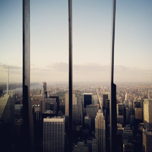 Empire State Building #NYC #panorama #rooftop (bij Empire State Building)
