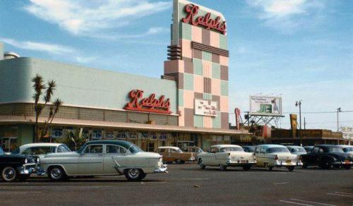 Ralphs - Southern California USA - 1950s Copyright © A Box of Pictures on Flickr.  All rights reserved.Ralphs is a Southern California grocery chain, the oldest such retail business west of the Mississippi River having been founded by George Albert Ralphs in 1873.  It was a respected and even beloved name in the area until the company started changing hands in 1994.  Four years later, it became part of the Kroger conglomeration of supermarket brands and, in this author's opinion, has never been the same even though it continues to be SoCal's top-earning grocer.