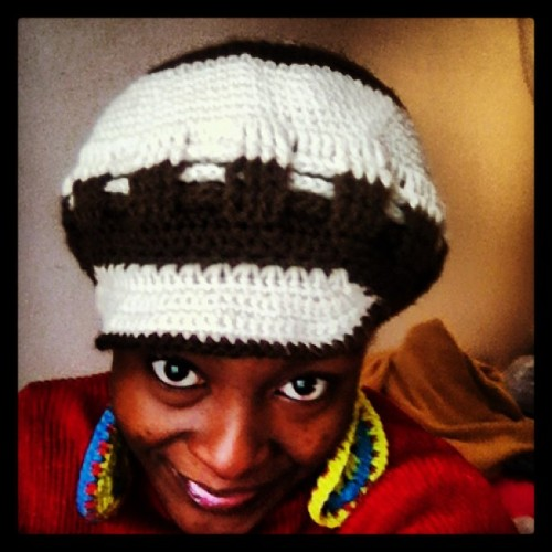 inayettystateofmind:  First freestyle brimmed hat I ever made #crochet #hat #brimmed #women #freestyle #instagood #theobsessedcrocheter