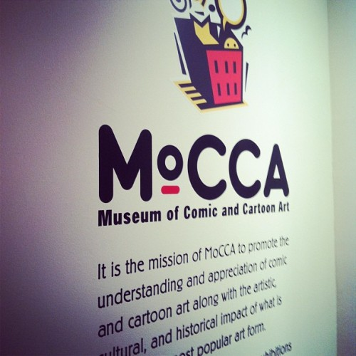 Eyes on the prize. #mocca #goals (at Society of Illustrators)