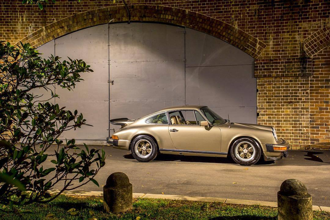 Gold, gold, gold in Australia. 1 of 400 made for the US market, landed down under and looking good #1980 #porsche #911SC #weissachpackage