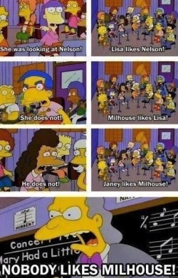 define-funny:  This is why I love the Simpsons.  follow my funny blog