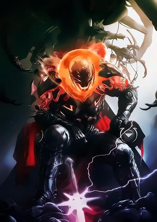 Ultron by aspersio