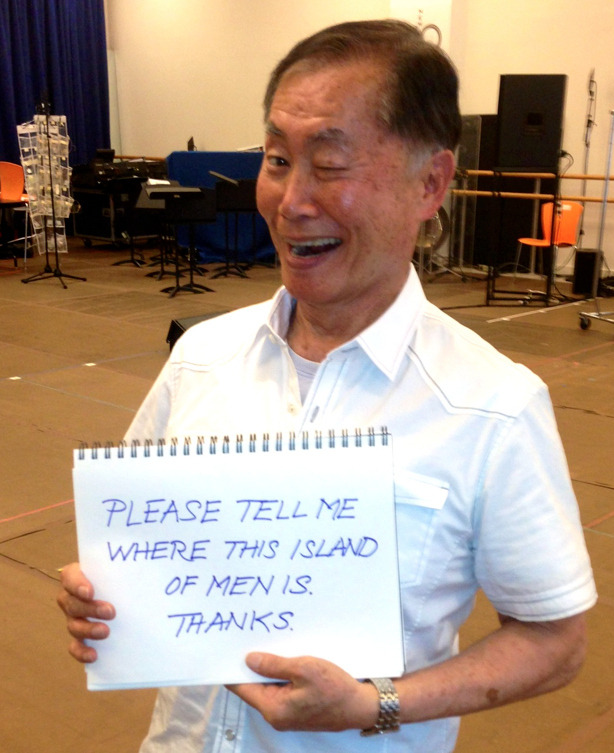 "ashleygraham:  tyleroakley:  buzzfeed:  George Takei responds to ""traditional"" marriage fans.   George Takei is flawfree.  A mazing"