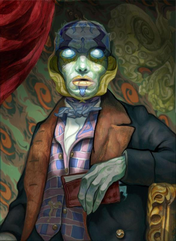 Abe Sapien, by Peter Scanlan