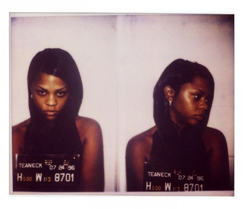 uglyplastic:  Photo courtesy: Unknown Charge(s): Lil' Kim arrested for possession of marijuana