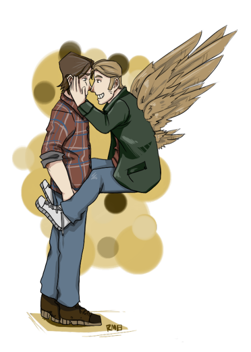 castiel-of-destiel:  you can never have too much sabriel in the world