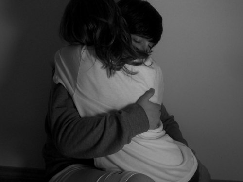 Her Favorite Hug. There's that one type of hug that a girl loves. That tight hug where you put some strength into it, using your both arms, not just one. The one where a girl could bury her face in a guy's chest, that makes her feel safe & secure, that makes her feel warm on the outside & inside, that makes her feel wanted, the one that lasts for awhile, and the one that would give her the impression that you care.