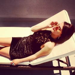 Lounging in black velvet wearing @rebecah_ryan Binx dress #ootd #ootdmagazine #rebecah.ryan #fashion #instafashion #instastyle #style #lookbook #vanityyouth #summer #instadaily