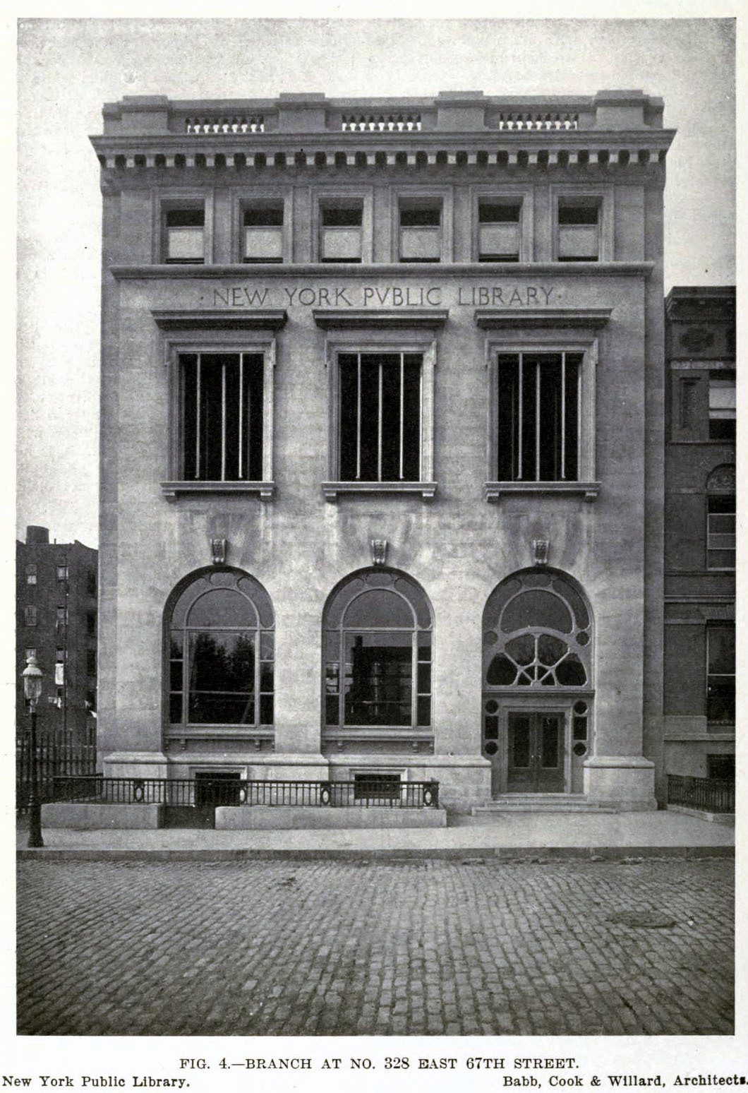 The New York Public Library Branch at 328 East 67th Street, New York City